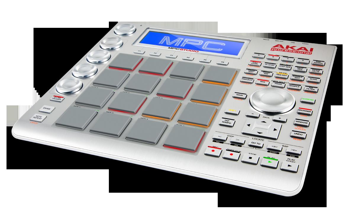 Akai MPC Studio controller.
