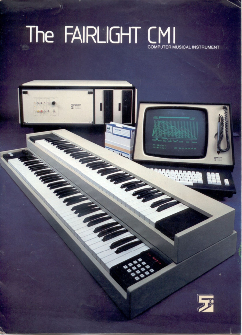 Fairlight CMI Sampler